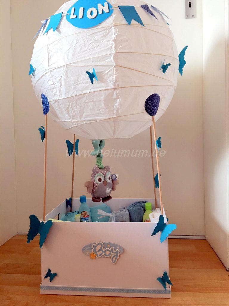 Hei luftballon zur geburt nelumum for Geschenke zur geburt selbstgemacht