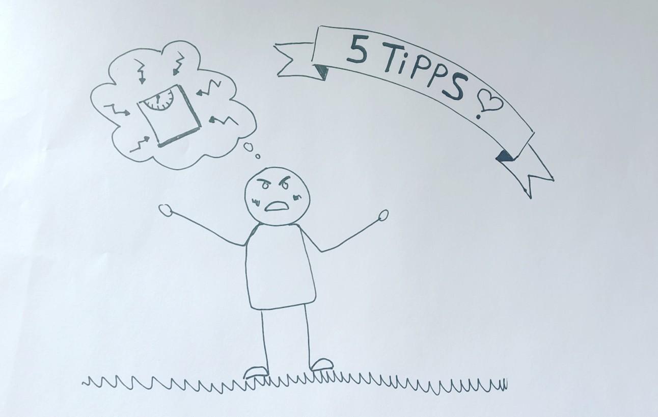 Meine 5 Tipps beim Abnehmen
