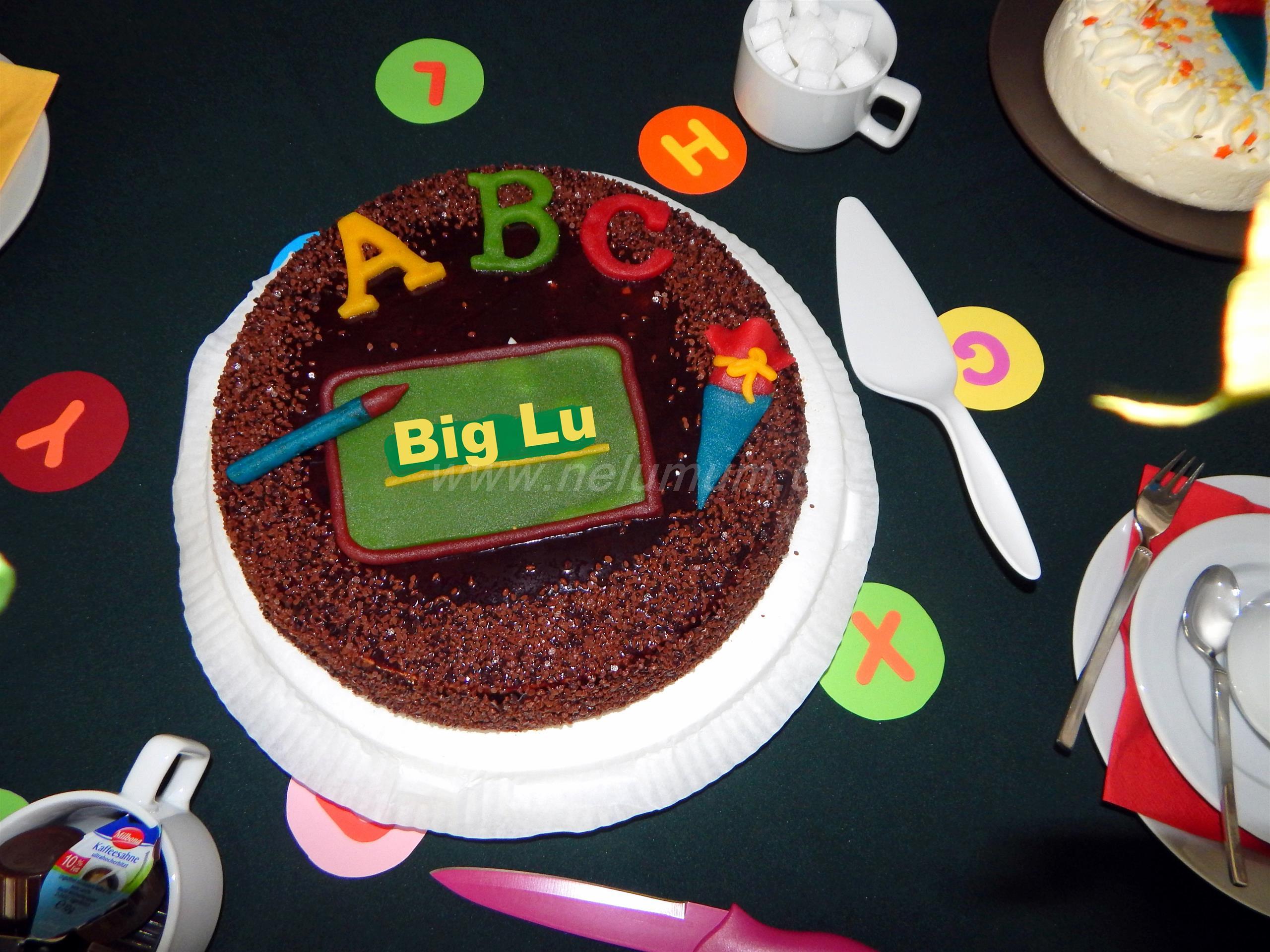 Die Einschulung von Big Lu