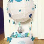 Heißluftballon zur Geburt