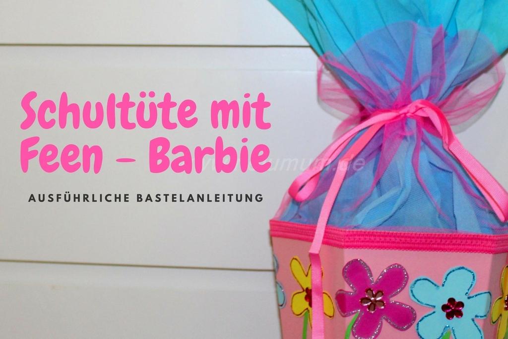 Schöne Schultüte für Barbie-Fans