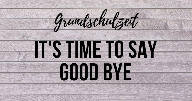 Tränen beim Abschied aus der Grundschule