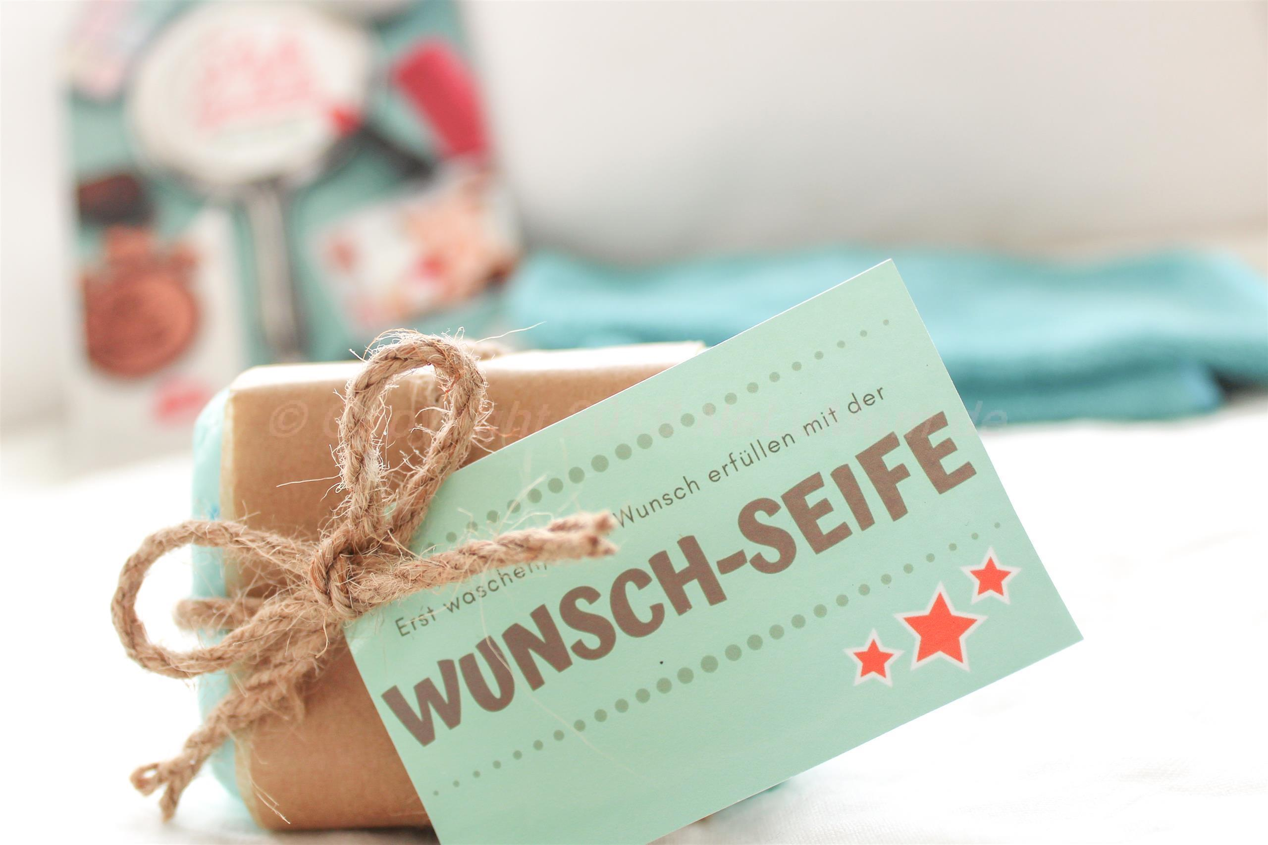 Wunschseife – Geschenk für Teenager (enthält Werbung)